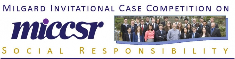 Milgard Invitational Case Competition on Social Responsibility