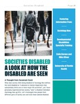Societies Disabled: A Look at How the Disabled Are Seen