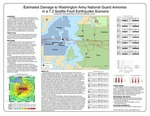 Estimated Damage to Washington Army National Guard Armories in a 7.2 Seattle Fault Earthquake Scenario by Shelly Tilly