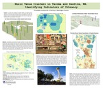 Music Venue Clusters in Tacoma and Seattle, WA: Identifying Indicators of Vibrancy